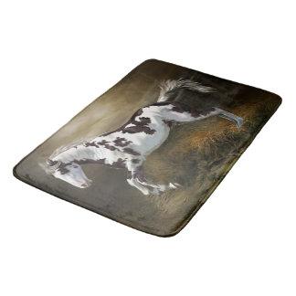 Tapete De Banheiro Cavalo da pintura de Tovero do quadro do respingo