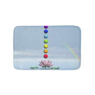 Tapete De Banheiro Chakras e arco-íris - 3D rendem