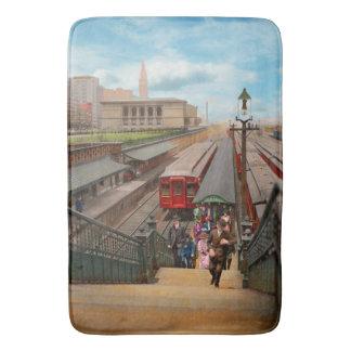 Tapete De Banheiro Cidade - Chicago - a estação 1907 da rua de Van
