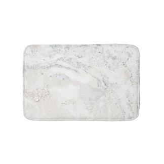 Tapete De Banheiro Cinzas bege cremosas brilhantes de pedra de