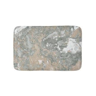 Tapete De Banheiro Cinzas bege cremosas do marfim do abstrato de