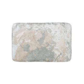Tapete De Banheiro Cinzas cremosas do marfim da hortelã do abstrato