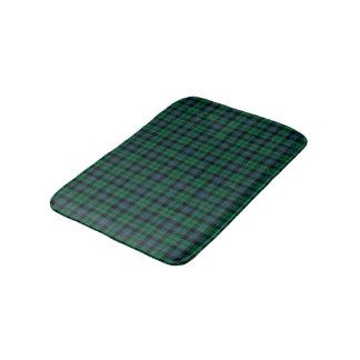 Tapete De Banheiro Clã Tartan escocês azul e verde de MacKay