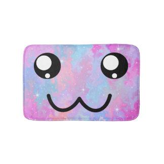 Tapete De Banheiro Colorido mágico Pastel de Kawaii da cara bonito