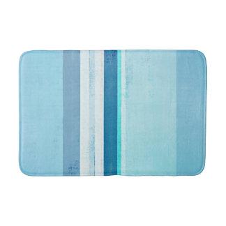 """Tapete De Banheiro """"Congelando"""" a arte abstracta azul"""