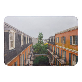 Tapete De Banheiro Construções e palmeiras em Nova Orleães