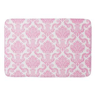 Tapete De Banheiro Cor damasco cor-de-rosa & branca {escolha sua cor}