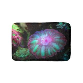 Tapete De Banheiro Coral submarino de incandescência