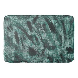 Tapete De Banheiro De tinta preta no marcador verde