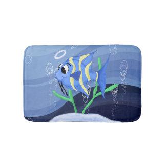Tapete De Banheiro Desenhos animados bonitos dos anjo-peixes