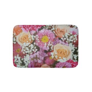 Tapete De Banheiro Design artístico da beleza floral