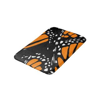Tapete De Banheiro Design da borboleta de monarca