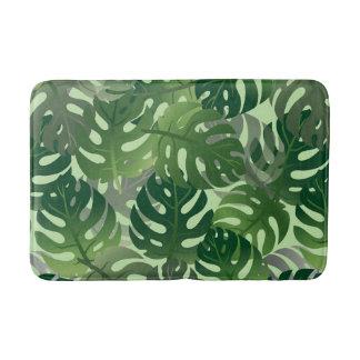 Tapete De Banheiro Design em folha de palmeira exótico