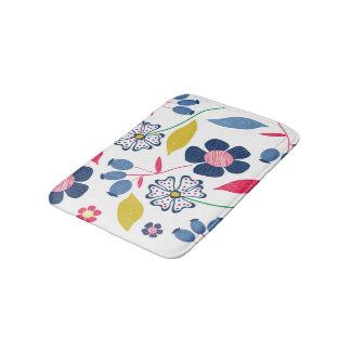 Tapete De Banheiro Design floral da esteira de banho
