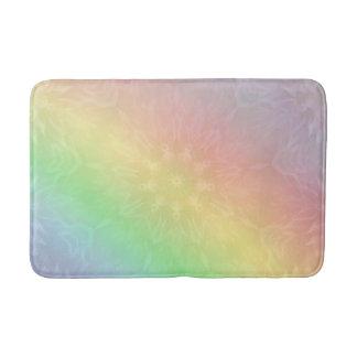 Tapete De Banheiro Design Pastel da mandala do arco-íris