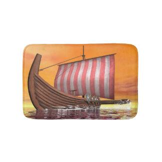 Tapete De Banheiro Drakkar ou navio de viquingue - 3D rendem