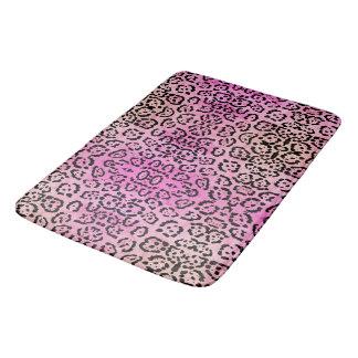 Tapete De Banheiro Efeito cor-de-rosa da pintura de óleo do animal do