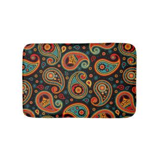 Tapete De Banheiro Elegante colorido de Paisley