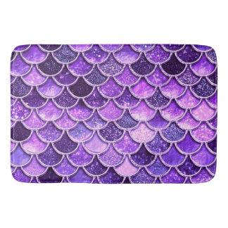 Tapete De Banheiro Escalas ultravioletas da sereia do brilho