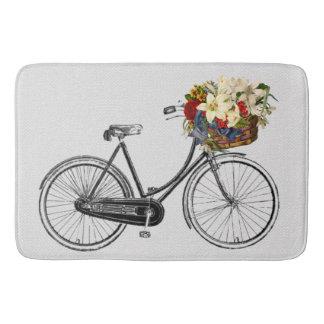 Tapete De Banheiro Esteira chique bonito do banheiro da bicicleta