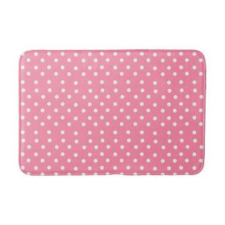 Tapete De Banheiro Esteira cor-de-rosa do banheiro do estilo das