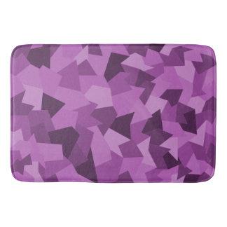 Tapete De Banheiro Esteira de banho Abstracta em lilás