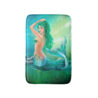 Tapete De Banheiro Esteira de banho bonita da fantasia da sereia da