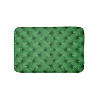 Tapete De Banheiro Esteira de banho com impressão do capitone verde
