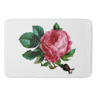 Tapete De Banheiro Esteira de banho cor-de-rosa da couve