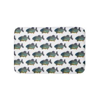 Tapete De Banheiro Esteira de banho da agitação do Piranha (escolha a