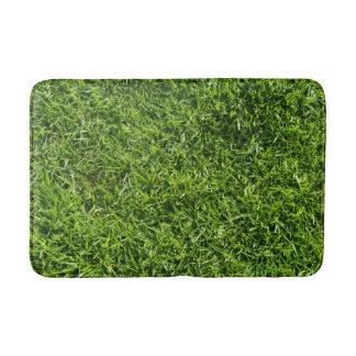 Tapete De Banheiro Esteira de banho da grama verde