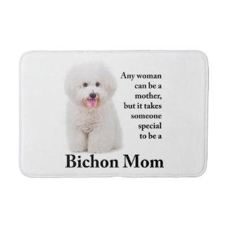 Tapete De Banheiro Esteira de banho da mamã de Bichon