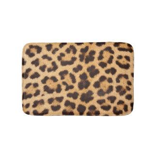 Tapete De Banheiro Esteira de banho da pele do leopardo
