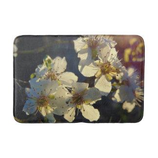 Tapete De Banheiro Esteira de banho das flores de cerejeira