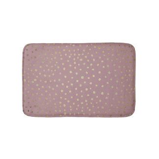 Tapete De Banheiro Esteira de banho de bronze do teste padrão de
