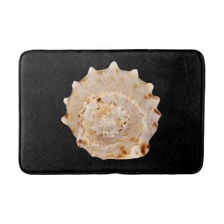 Tapete De Banheiro Esteira de banho de Shell do Conch