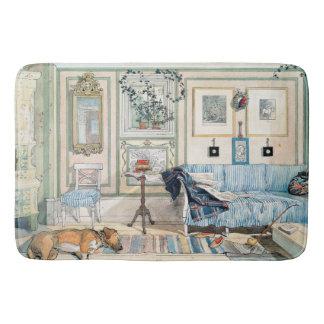 Tapete De Banheiro Esteira de banho do cão da casa da sala de visitas
