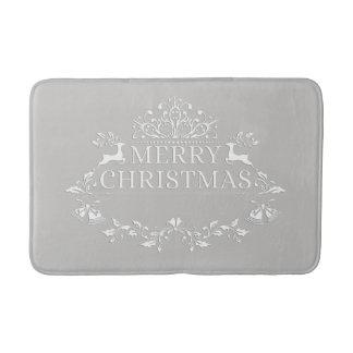 Tapete De Banheiro Esteira de banho do Feliz Natal