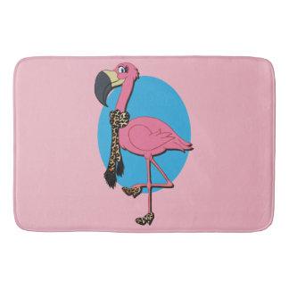 Tapete De Banheiro Esteira de banho do flamingo extravagante grande