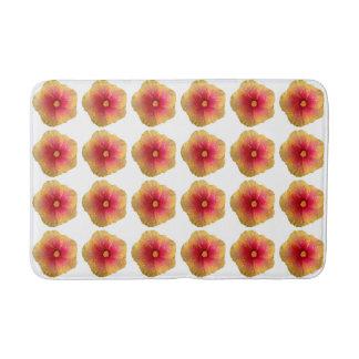 Tapete De Banheiro Esteira de banho do hibiscus