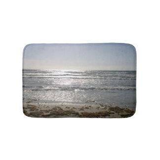Tapete De Banheiro Esteira de banho do nascer do sol da praia