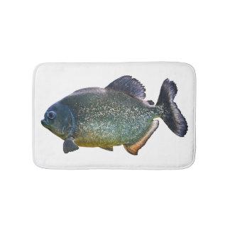 Tapete De Banheiro Esteira de banho do Piranha (escolha a cor)