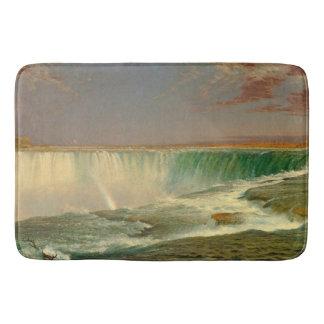 Tapete De Banheiro Esteira de banho do rio da cachoeira de Niagara