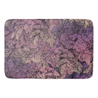 Tapete De Banheiro Esteira de banho do rosa selvagem grande