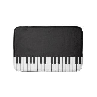 Tapete De Banheiro Esteira de banho do teclado de piano