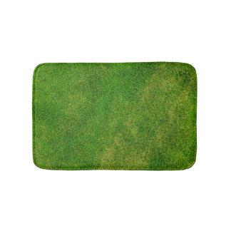 Tapete De Banheiro Esteira de banho engraçada da grama verde