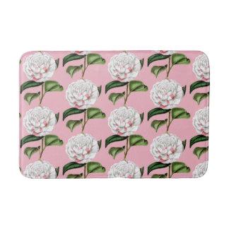 Tapete De Banheiro Esteira de banho floral da camélia encantador