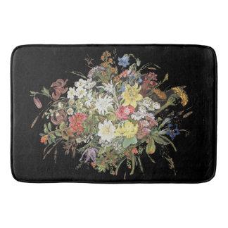 Tapete De Banheiro Esteira de banho floral do pulverizador da flor do