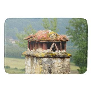 Tapete De Banheiro Esteira de banho francesa antiga da chaminé