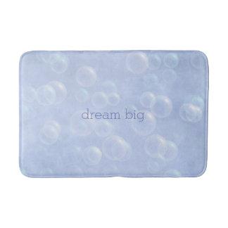 Tapete De Banheiro Esteira de banho grande do sonho azul das bolhas